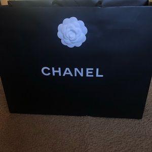 Large Chanel shopping bag